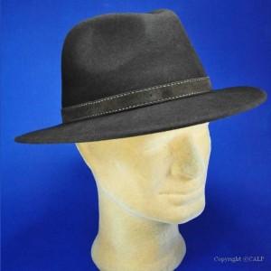 Chapeau marron homme
