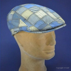 casquette anglaise patch