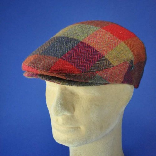 casquette anglaise tweed homme