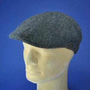 casquette haut de gamme tweed laine vierge