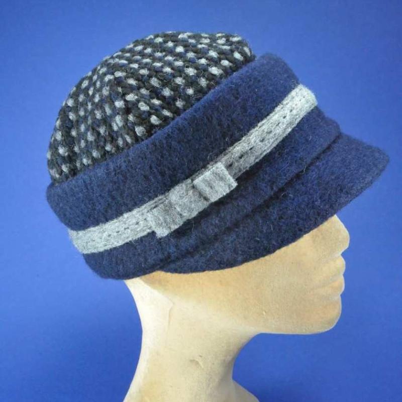 casquette mode laine femme