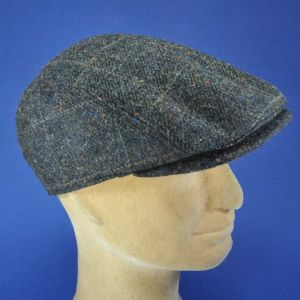Casquette d'hiver homme forme anglaise