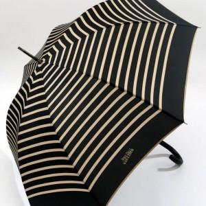 parapluie canne imprimé marin noir et beige jean paul gaultier