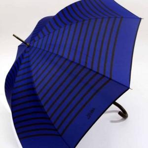 parapluie canne imprimé marin bleu et  noir jean paul gaultier