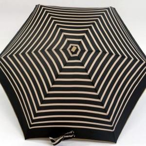 parapluie pliant imprimé marin noir et beige jean paul gaultier