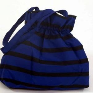 parapluie pliant imprimé marin bleu et noir jean paul gaultier