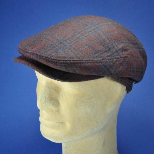 Casquette homme hiver laine polyester