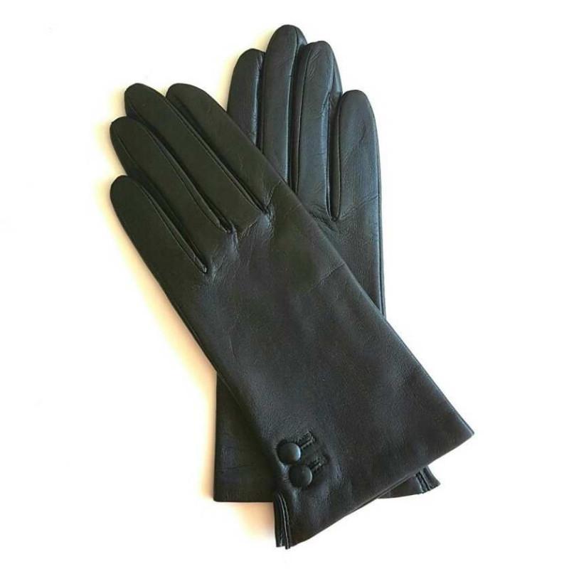 953db88c3f6 Gants femme en cuir d agneau - Vente gants cuir doublé soie