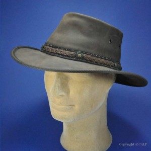 Barmah chapeau australien cuir Bronco