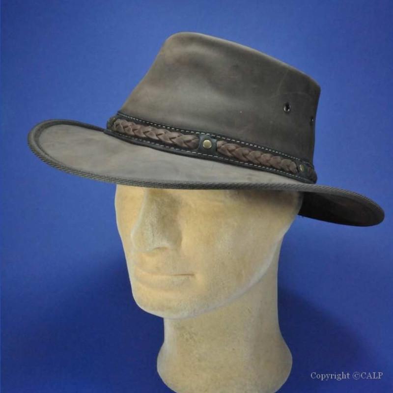 magasins populaires meilleur authentique gamme de couleurs exceptionnelle Achat chapeau barmah Australien en cuir - Chapeaux Barmah en cuir hommes