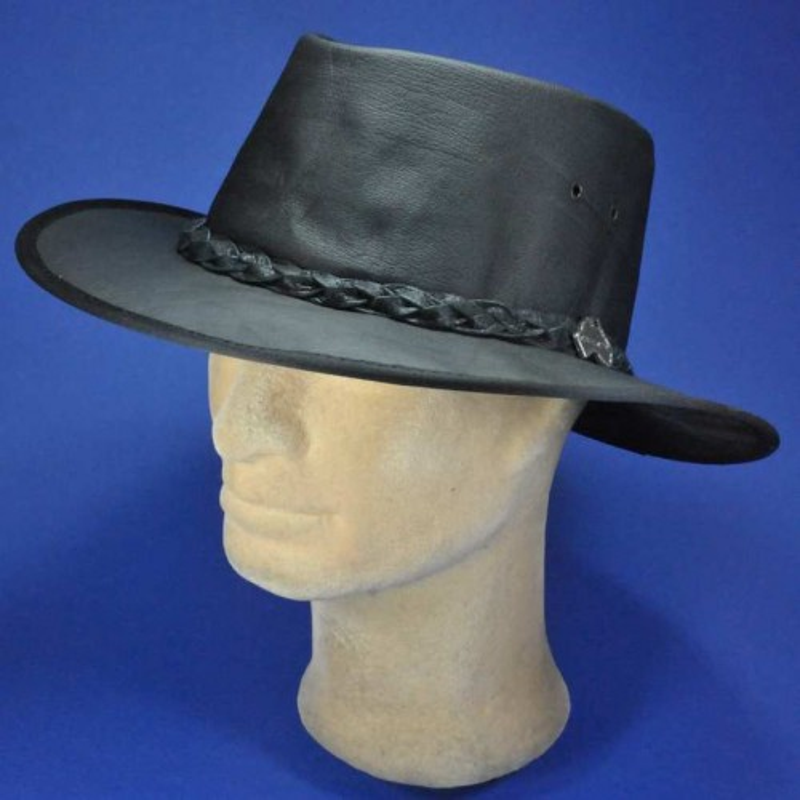 Barmah chapeau cuir buffalo