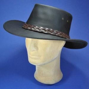 Chapeau australien en cuir aussie apparel