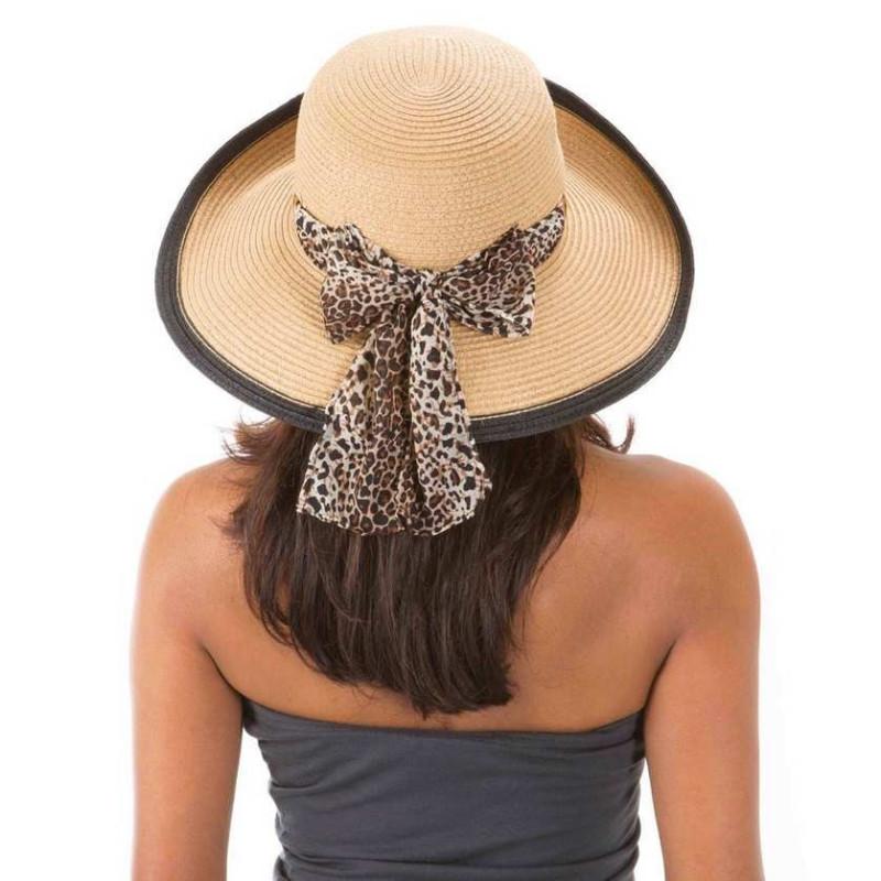 Chapeau Hepburn anti UV