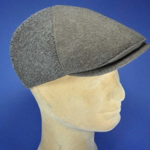 Casquette en laine patch fashion homme