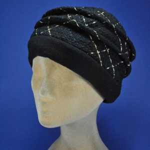 Toque fashion femme en laine fabrication francaise