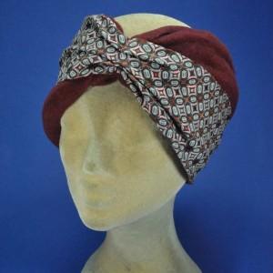 Bandeau fashion laine cache oreilles femme