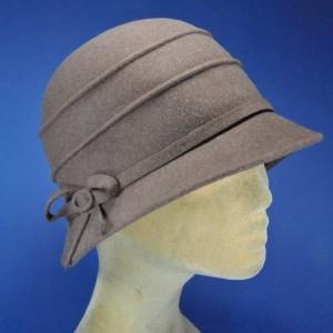 chapeau feutre rétro