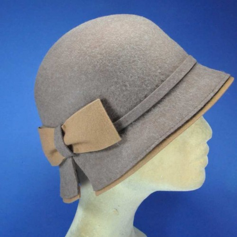 Chapeau feutre fashion rétro pour femme