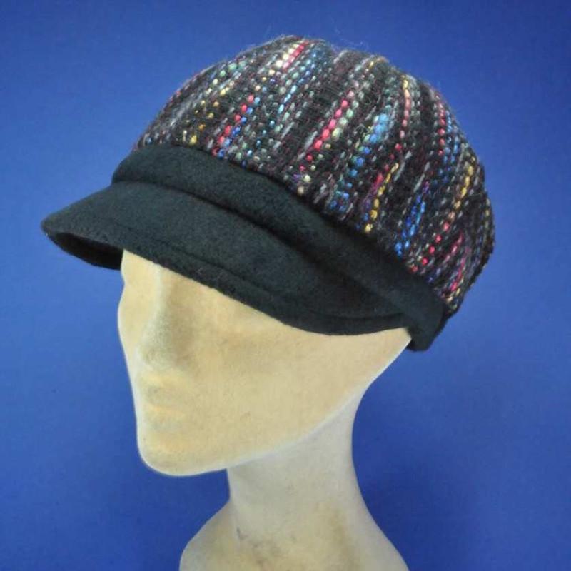Gavroche casquette laine femme