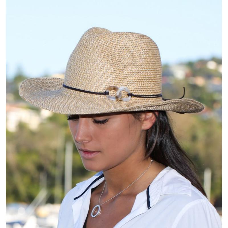 Chapeau femme anti UV forme australie