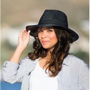 Chapeau femme anti UV bord moyen