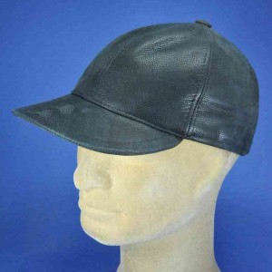 Casquette cuir homme