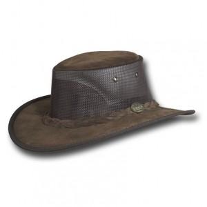 Chapeau Australien Foldaway Cooler marron - Barmah