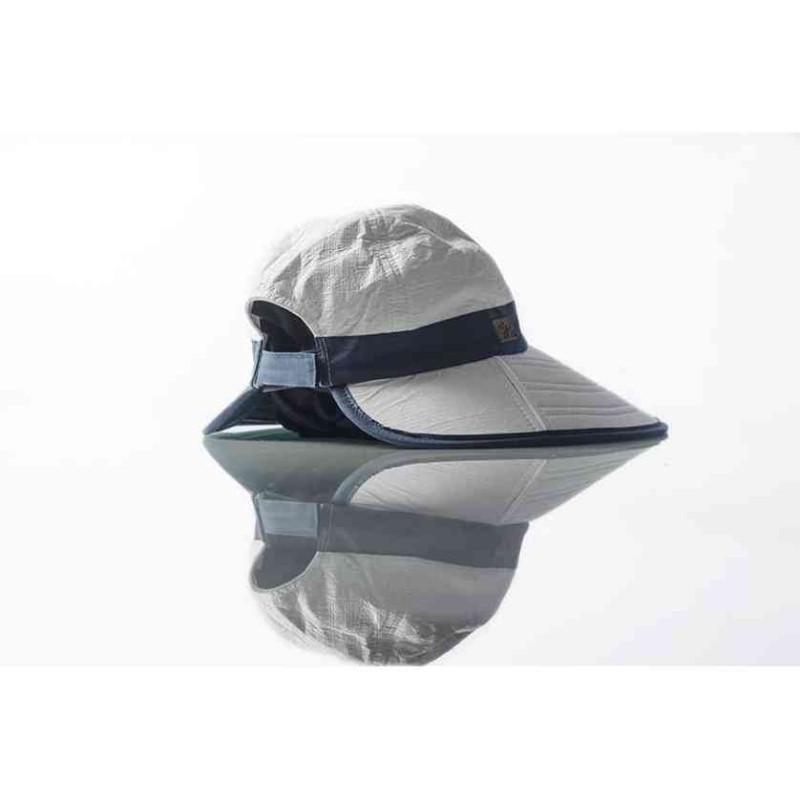 Casquette longue anti-UV fabrication Francaise