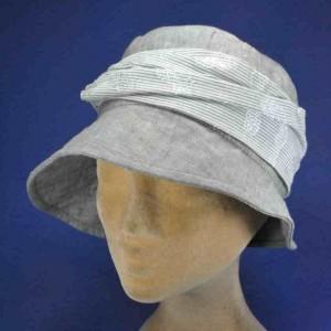 Chapeau de plage rétro femme