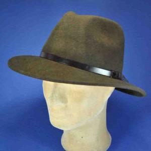 Chapeau feutre marron homme