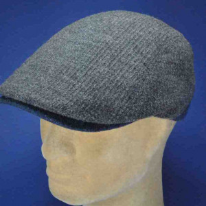 Casquette laine forme anglaise