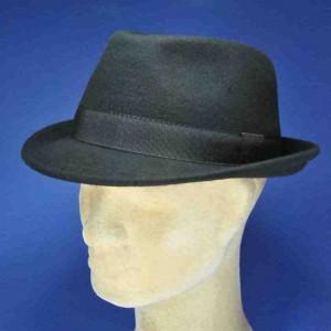 Chapeau feutre de laine trilby