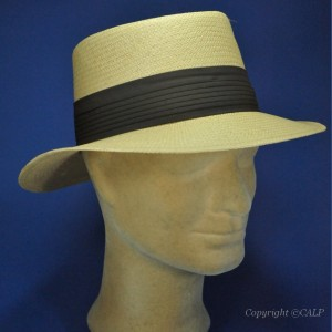 chapeau panama H boston camel