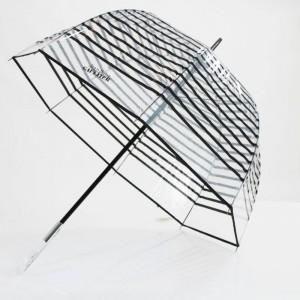 Parapluie transparent rayé  Jean-Paul GAULTIER