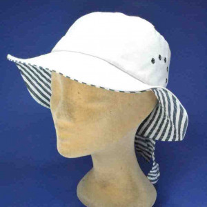 Chapeau bob en coton pour femme