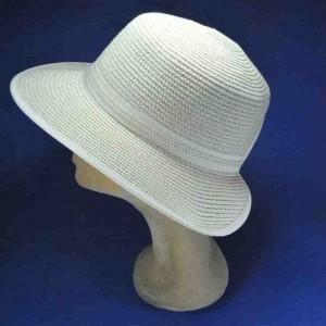 Chapeau casquette paille souple roulable