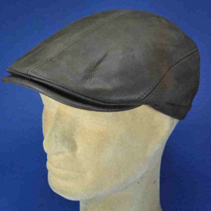 casquettes cuir forme anglaise