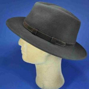 Chapeau feutre laine marron premier prix