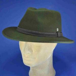 chapeau flechet feutre de laine loden
