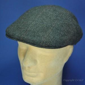 casquette laine formée grise