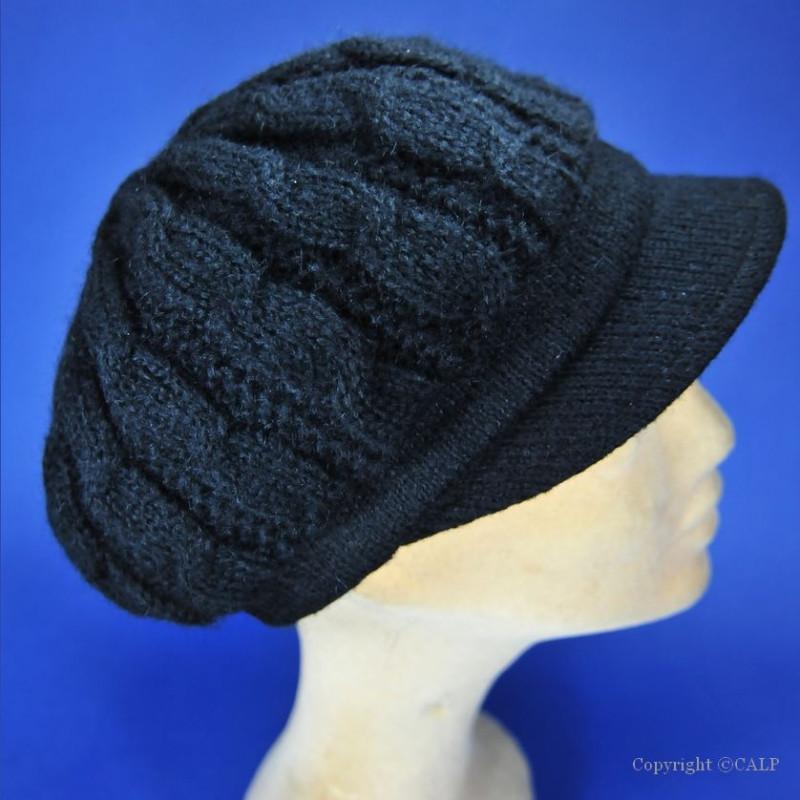 casquette femme en laine