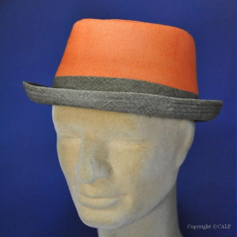 Chapeau mode orange
