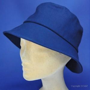 Chapeau bob bleu marine