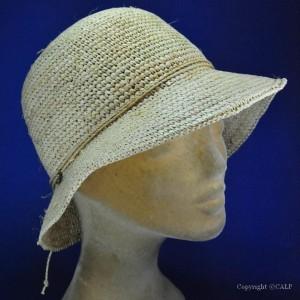 Chapeau de plage en raphia