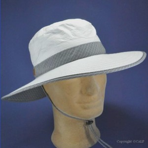 chapeau anti UV grand bord