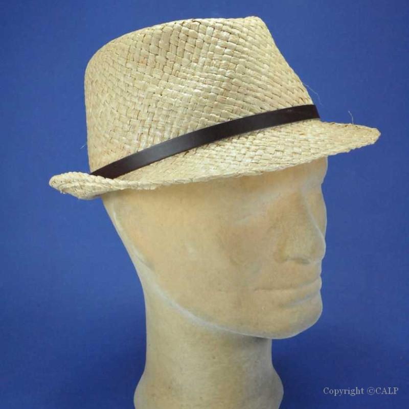 chapeau trilby homme achat chapeau de paille trilby pour. Black Bedroom Furniture Sets. Home Design Ideas