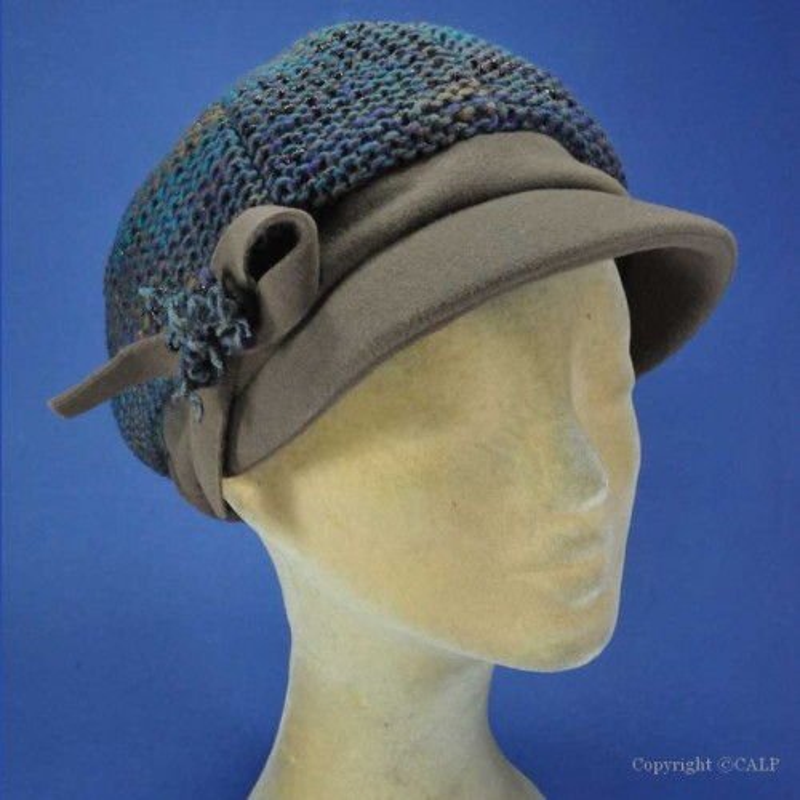 casquette fantaisie hiver femme