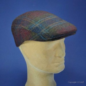 casquette laine CASHMERE TWEED homme hiver