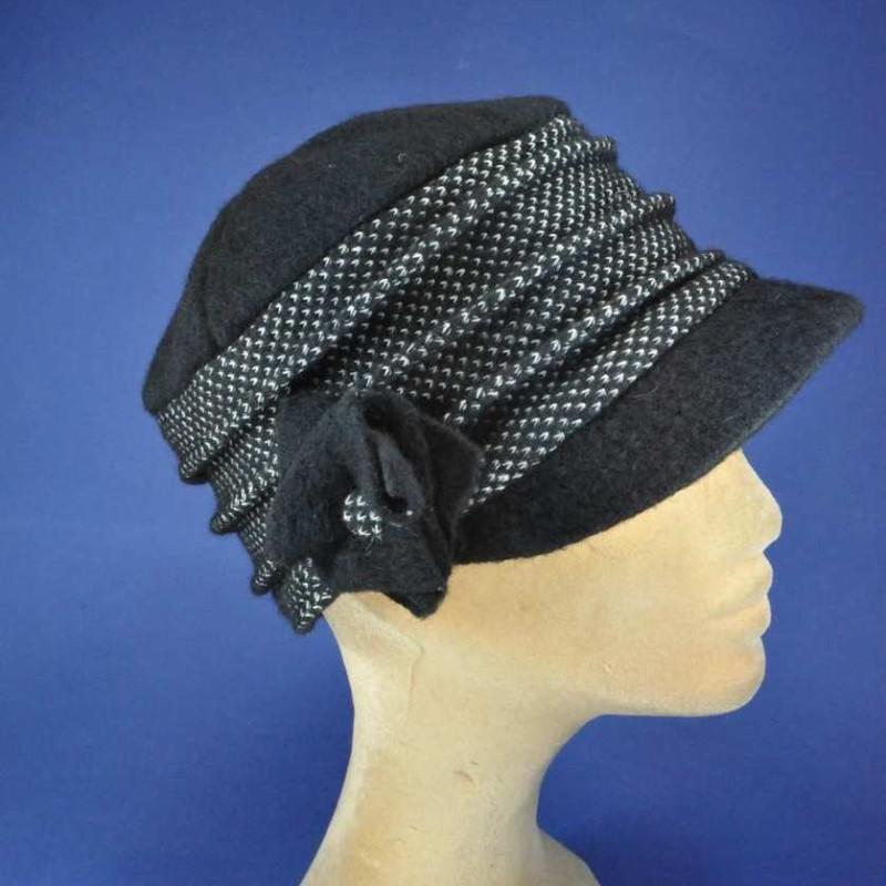 code promo efd69 9ede6 casquette d'hiver en laine femmes