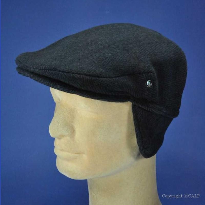 casquette anglaise cache oreilles homme